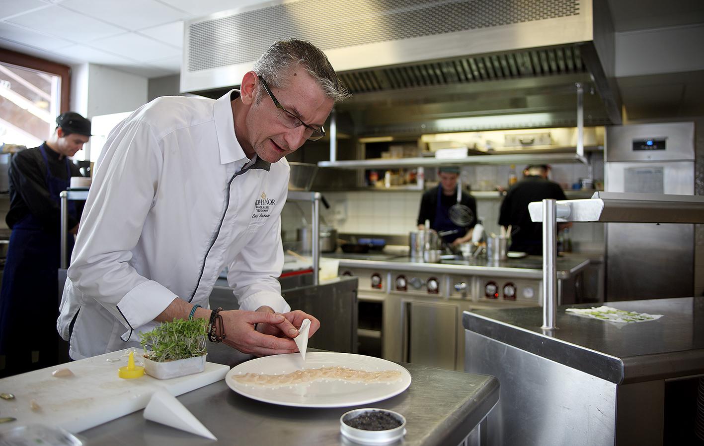 Chef Eric Samson